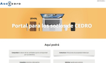 Nueva sede digital de CEDRO