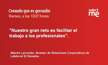 Creando que es gerundio: Edición jurídica en España