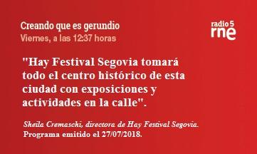 Hay Festival Segovia 2018