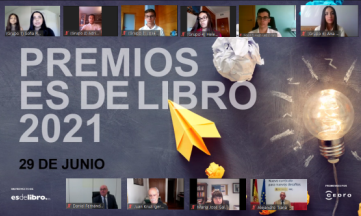 Jóvenes investigadores de Alicante, Madrid, Murcia, Navarra y Sevilla recogen los premios Es de libro