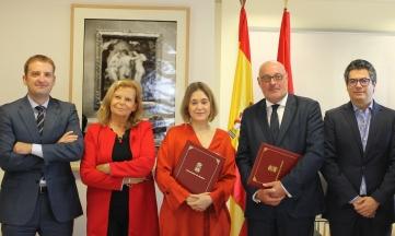 Convenio con la Comunidad de Madrid para la gestión del pago de derechos en bibliotecas