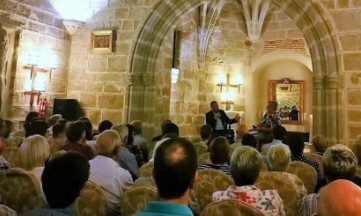 Sánchez Adalid, en el encuentro literario «Paren y Lean»