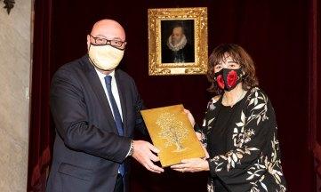 Rosa Montero recoge el Premio CEDRO 2020