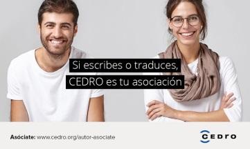 «Ayude a sus autores», una campaña dirigida a editoriales socias de CEDRO