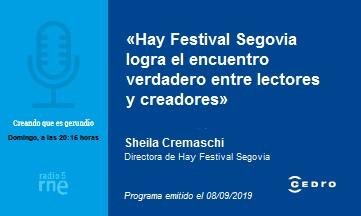 Voces literarias en Segovia