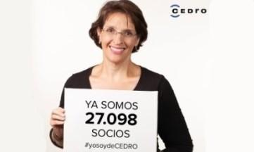 CEDRO supera los 27.000 socios