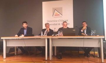 Formación sobre propiedad intelectual en la Universidad de Alicante