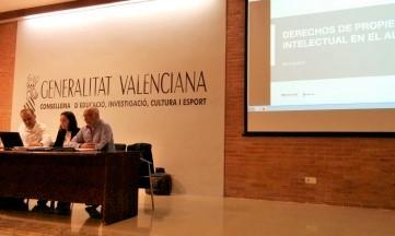 Profesores de Valencia se forman en propiedad intelectual