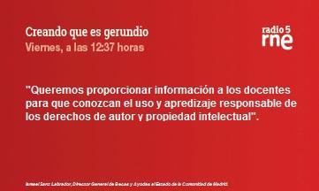 Creando que es Gerundio: Formación sobre propiedad intelectual para profesores