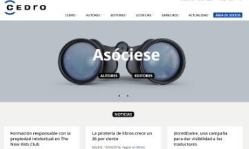 Nueva plataforma informativa de CEDRO