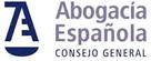 logo de abogacía española consejo general